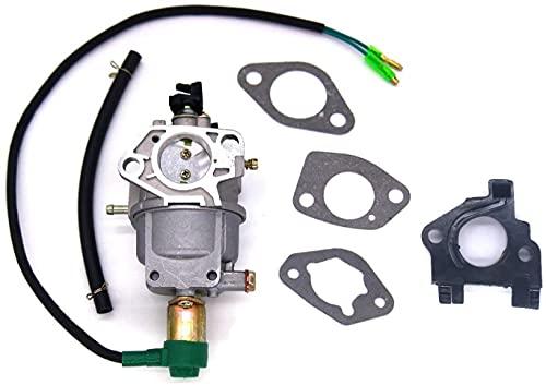 okuya Passt perfekt Carburetor carburador con juntas Línea de combustible aislante para Honda GX340 GX390 188F Motor del motor 13HP Generator Motor Reemplace las afinar kits Bitte überprüfen Sie das M