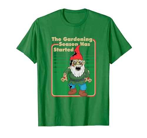 Die Gartensaison beginnt T-Shirt
