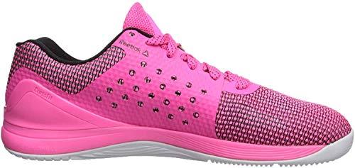 Reebok Men's CROSSFIT Nano 7.0 Sneaker, Men's Poison Pink/Black/White, 8 M US