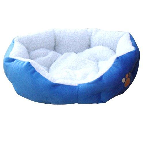 outdoortips Sofá de Cama para Mascotas, para Interior, Suave, con cojín, para Perros y Gatos