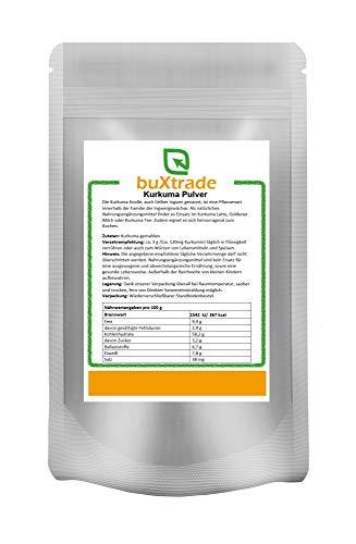 2x 5 kg | Kurkuma Pulver | Goldene Milch | Nahrungsergänzungsmittel | Pulver | Gelber Ingwer| Curcuma | Buxtrade