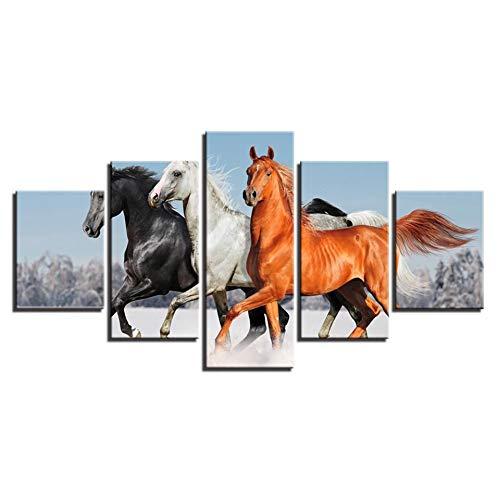 Art Home Decoration afbeelding Wall Poster Animal Horse Hd Gedrukt op canvas Schilderen NO Frame 10 x 15 10 x 20 10 x 25 cm.