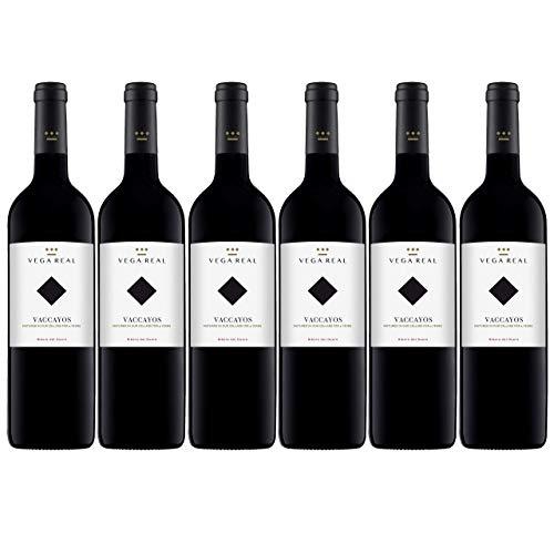 Vega Real Vaccayos | Vino Tinto Reserva con Denominación de Origen - Caja 6 x 75 cl