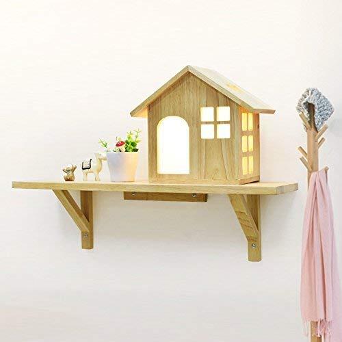WHKHY Siéntese en el Dormitorio Lámpara de Mesa de Noche Sencillo y Moderno Balcón Habitación Obra Escalera Niños Niñas, 60 cm