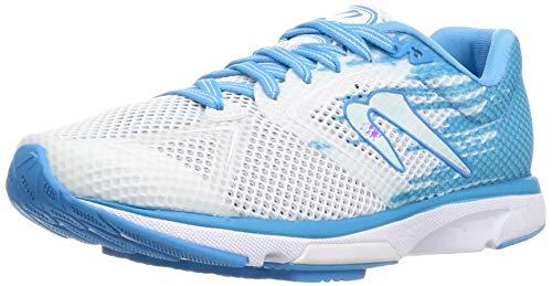 Newton Running Distance 10 White/Sky Blue 9 B (M)