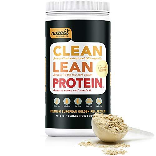 meilleures protéines végétales en poudre NuZest Clean Lean