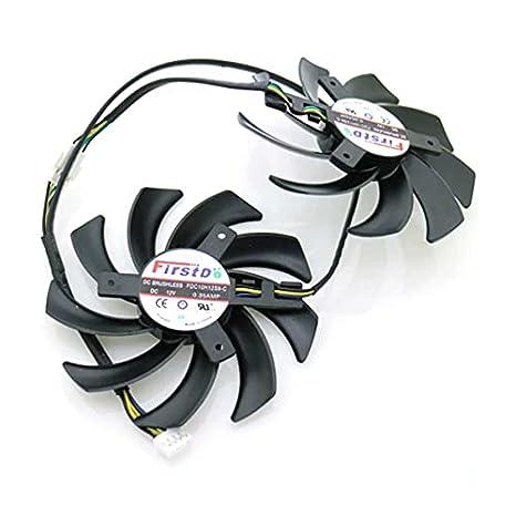 A Set FDC10H12S9-C 86mm 39x39x39mm For Sapphire R9 VAPOR-X 270X 280X HD7870 HD7950 HD7970 Graphics Card Cooling Fan