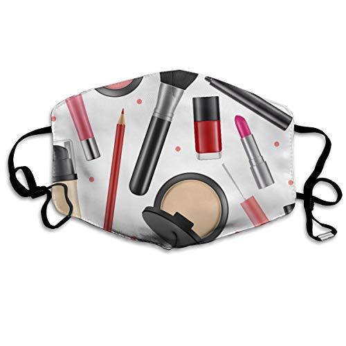 Stofdicht wasbaar masker, cosmetische nagellak poeder, zacht, ademend, wasbaar, knop instelbaar masker, geschikt voor mannen en vrouwen maskers