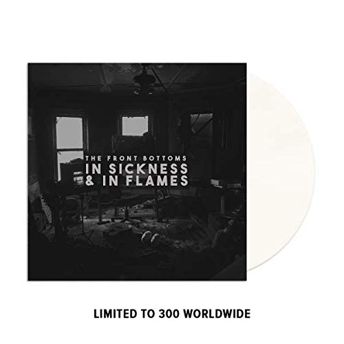 In Sickness & In Flames - Exclusive Limited Edition Milky Clear Colored Vinyl LP (Only 300 Copies Pressed Worldwide)