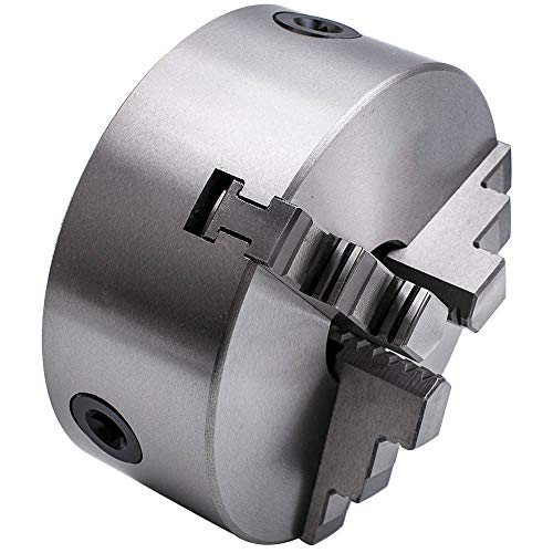 Mophorn Mandril De Torno Autocentrante 160 mm Torno de Mandril Autocentrante de 3 Mordazas de 6