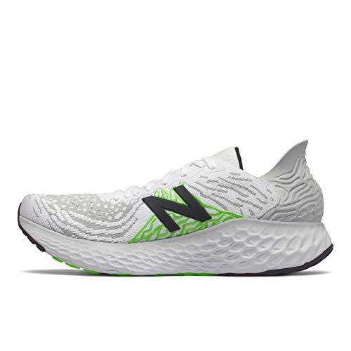 New Balance Fresh Foam 1080 V10 Chaussures de course pour homme, gris (Aluminium clair/blanc.), 44.5 EU