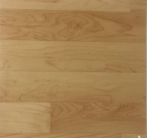 PVC Vinyl-Bodenbelag | Muster | in Ahorn-Schiffsboden-Optik | CV PVC-Belag in verschiedenen Maßen verfügbar | CV-Boden wird in benötigter Größe als Meterware geliefert
