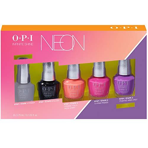 OPI Mini, Gel de Manicura y Pedicura (Mini Kit de VFerano 19 de Neons 5 Piezas) - 1 Unidad