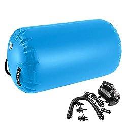 FBSPORT Aufblasbare Air Roll, 120cm aufblasbare Luft Rollen, Yoga Gymnastic Zylinder, Gym Air Barrel, Airtrack Ãœbung Spalte