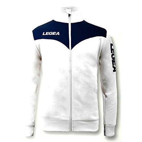 Legea - Tuta Completa Perù Uomo - (Bianco/Navy Blue) (M)