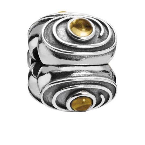 Pandora Damen-Bead Clip Stopper Sterling-Silber 925 790560CI