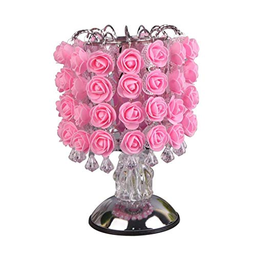 Lámpara de mesa Lámpara de la lámpara de la lámpara de la luz de la lámpara de la mesa de la flor de la lámpara con las luces de la decoración del hogar con los LED for la boda de la fiesta en casa