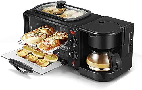 GAOFQ Sartén para Horno de Pizza de Pan doméstico, máquina de Desayuno...