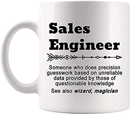 NA Definición Ingeniero de Ventas Significado Taza Ingeniería Actual Taza de café de 11 oz Mordaza Regalo para Hombres Mujeres Camiseta Tazas Tazas Z74NBU