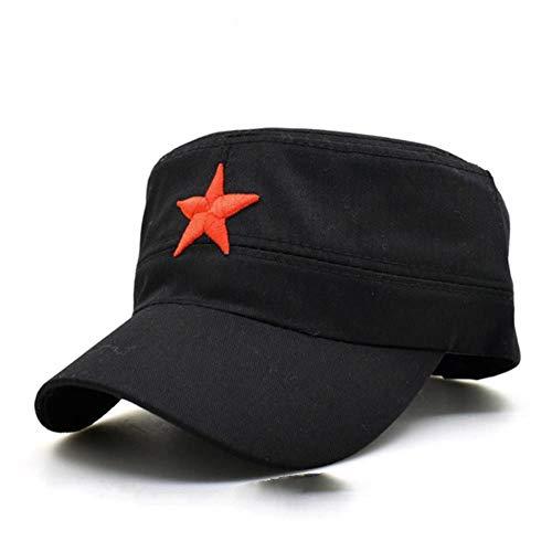 UKKD Gorra de Beisbol Cabezales De Aire Sombreros Red Star Ejército Partido Cap Brigadas Internacional De Los Hombres Frescos del Ejército Militar Plana Sombrero De