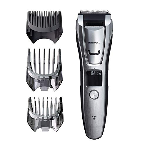 Beard Trimmer Kit for Face, Head, Body Hair Styling & Grooming, 39 Quick-Adjust Dial Trim Settings, Cordless/Cord