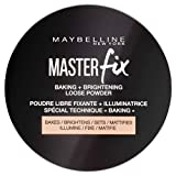 MAYBELLINE New York Master Fix - Baking Powder Banana, Polvos Traslúcidos Matificantes - 6 gr