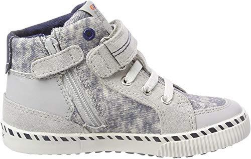Geox Baby-Jungen B Kilwi Boy C Sneaker, Lt Grey White, 26 EU