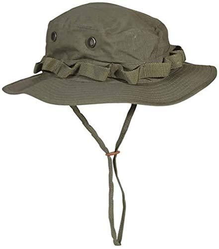 Mil-Tec US Olive Green Rip Stop Jungle Boonie Hat (Medium - 56/57 cm)