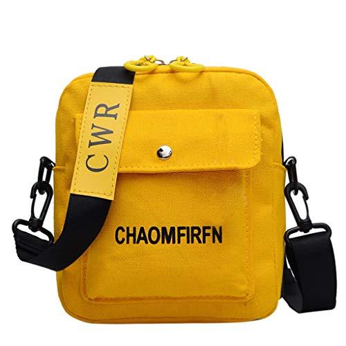 Btruely Damen Shopper Handtasche Crossbody Tasche Shell Schulter Umhängetaschen Messenger Bag,Damenmode Segeltuchtasche Mit Großer Kapazität Student Stofftasche