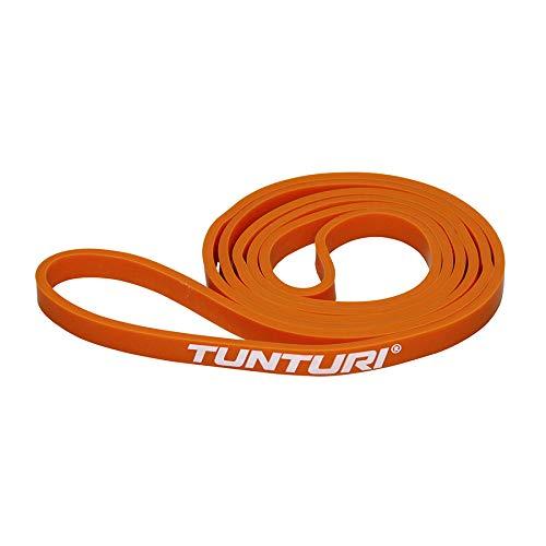 Tunturi-Fitness Functional Banda Elástica, Unisex Adulto, Naranja, Talla Única