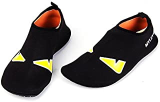 Black Swimming & Water Games Shoe For Unisex