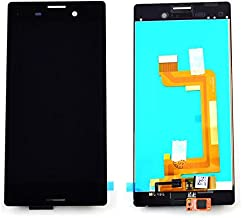 YOUNGFLY Full LCD Display Touch Screen Digitizer Assembly Replacement for Sony Xperia M4 Aqua E2303 E2306 E2333 E2353 E2363 With Tools Kits Black