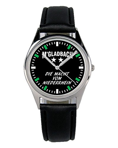 KIESENBERG - Gladbach Geschenk Fan Artikel Zubehör Fanartikel Uhr B-6035