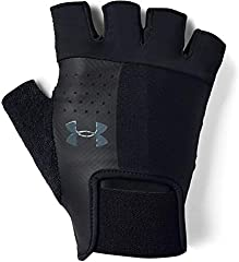 Under Armour UA Men's Training Glove Hombre, Guantes Sin Dedos, Black/Black/Pitch Gray(001), LG