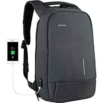 OUTJOY Backpack for Men Anti-Theft Laptop Backpack