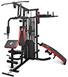 Fit4home Multi Gym Workout Station | Home Fitness Body Exercise Machine | Total-body Workout | Multifunctional Workout Station | TF-7005A, (81.64 KG)