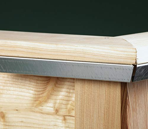 KGT Schneckenkante für Hochbeet Woody 210 16000007