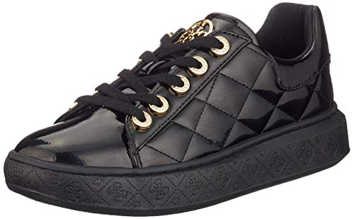 Guess Damen Becks/Active Lady/Leather Like Gymnastikschuhe, Weiß (White Black), 40 EU