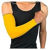 Manica del braccio Coperchio delle maniche a braccio di raffreddamento 1pcs UV. Protezione solare Bracciale Bracciale da golf Golf Athletic Sport Esecuzione a compressione Manica del braccio traspiran