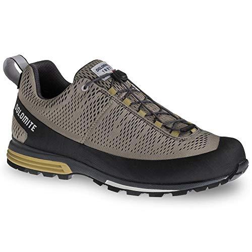 Dolomite Zapato Diagonal Air GTX, Scarpe Unisex-Adulto, Mud Grey/Marsh Green, 43 1/3 EU
