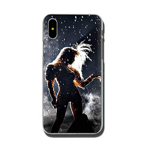 Jztmsk Lke Beyonce End Rlhenne Ultra Thin Ultra Slim Fit Soft Silicone Crystal Transparent Bumper TPU Phone Case Compatible with H1 For Funda iPhone 5 5s