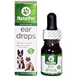 NaturPet Ear Drops for Dogs & Cats | Use for Cleaning,...