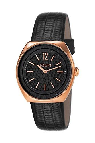Joop! Damen Analog Quarz Uhr mit Leder Armband JP101122F08
