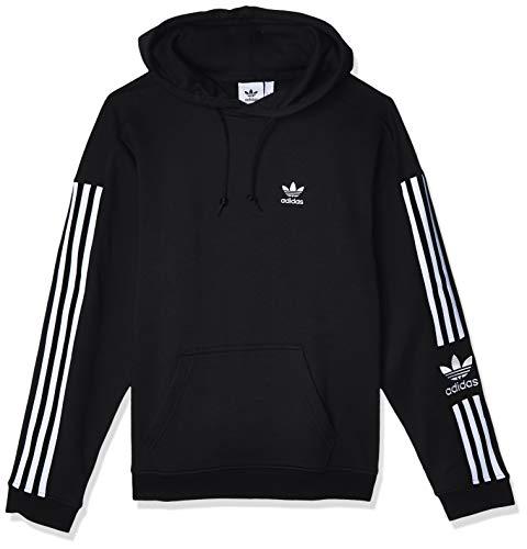 adidas Herren Sweatshirt Lock UP Hoody, Black, XL, ED6124