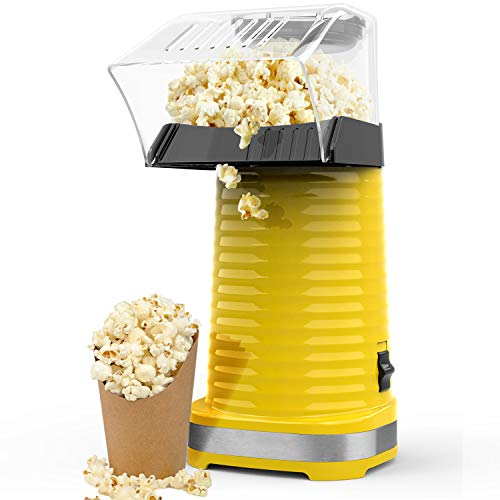 Cheapest Price! OPOLAR Hot Air Popcorn Popper Electric Machine, Fast Popcorn Maker with Measuring Cu...