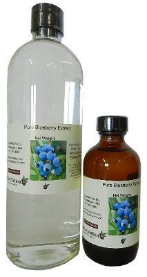 OliveNation Blueberry Extract for Brewing and Baking, TTB-Approved Natural Flavoring for Baked Goods, Beverages, Non-GMO, Gluten Free, Kosher, Vegan - 2 ounces