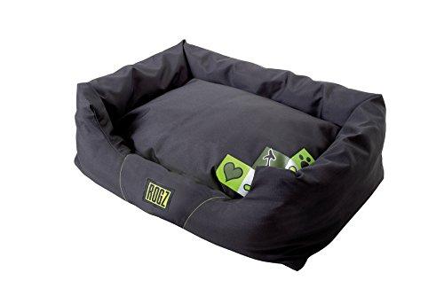 Rogz PPS-CF Spice Podz Dog Bed/Hundebett, S, grün