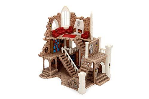 Dickie Toys 253185001 Tower, Griffindor Turm, inkl. 2 Sammelfiguren, Harry Potter Spielzeug, braun, 4 cm