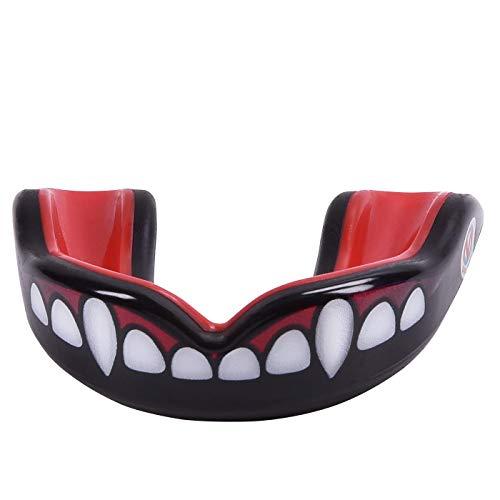 Oral Mart Jugend Sport Mudguard für Kinder (Vampirzähne)