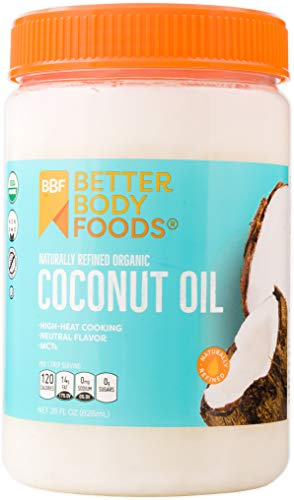 BetterBody Foods Organic Refined Coconut Oil 28oz